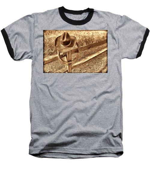 Hat And Lariat Baseball T-Shirt