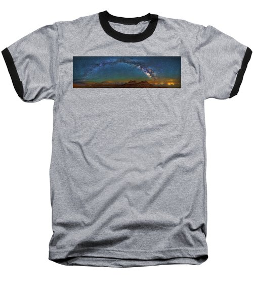 Hat Rock Milky Way Baseball T-Shirt
