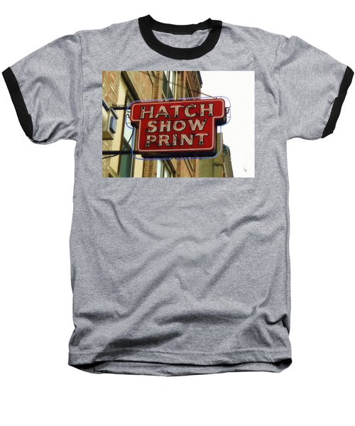 Hatch Show Print Baseball T-Shirt