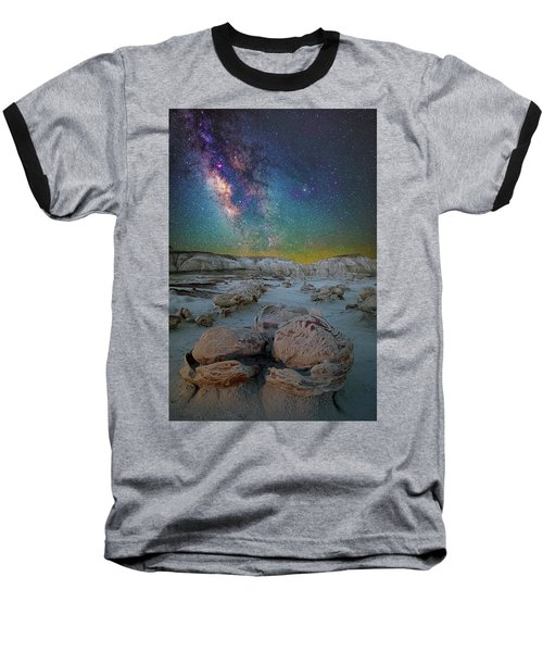Hatched By The Stars Baseball T-Shirt