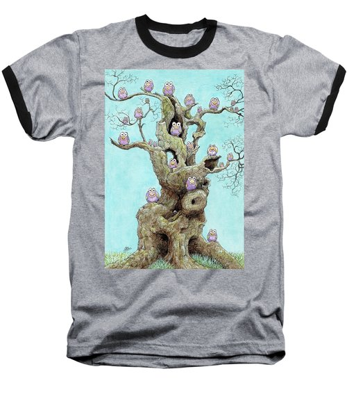 Hatchlings Baseball T-Shirt by Charles Cater