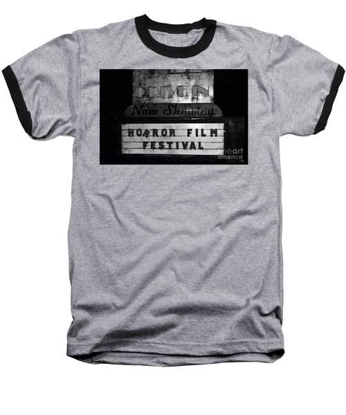 Haunted Drive In Baseball T-Shirt