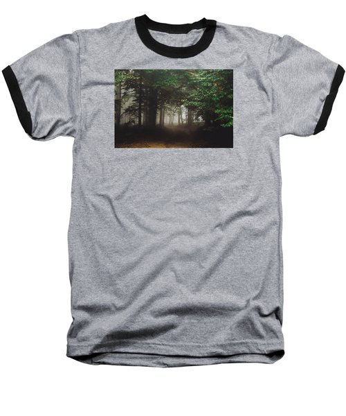 Haunted Forest #2 Baseball T-Shirt