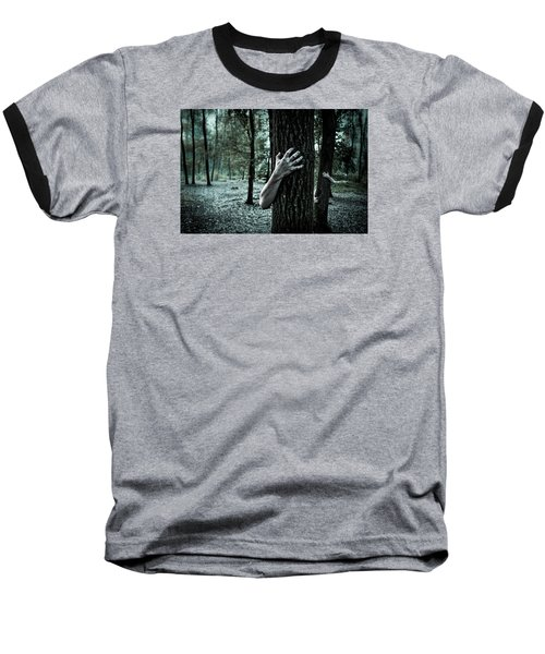 Haunted Forest  Baseball T-Shirt