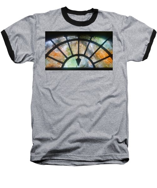 Haunted Window Baseball T-Shirt