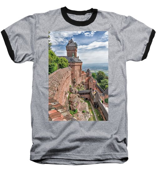 Baseball T-Shirt featuring the photograph Haut-koenigsbourg by Alan Toepfer