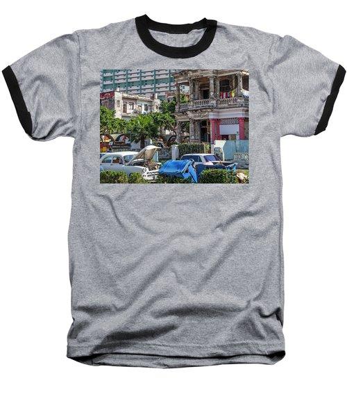Baseball T-Shirt featuring the photograph Havana Cuba by Charles Harden