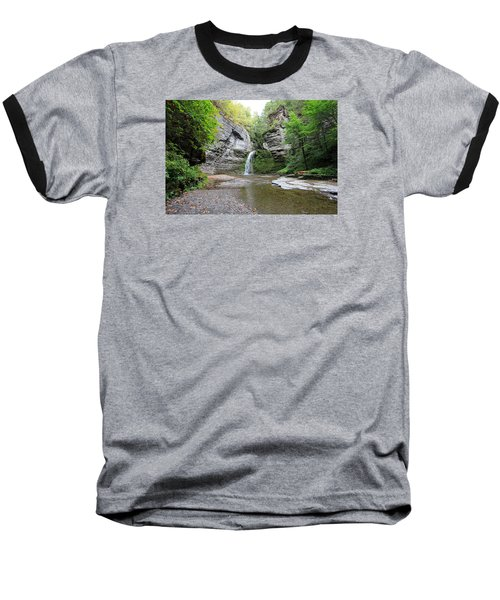 Baseball T-Shirt featuring the photograph Beautiful Eagle Cliff Falls  by Trina  Ansel