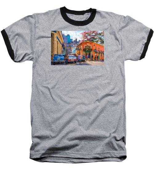 Havana In Bloom Baseball T-Shirt by Les Palenik