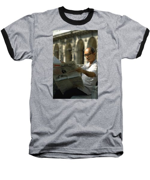 Baseball T-Shirt featuring the photograph Havana by Travel Pics