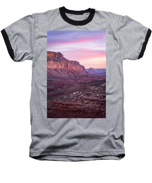 Havasupai Desert Sunrise Baseball T-Shirt by Serge Skiba