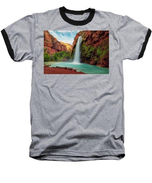 Havasupai Falls Baseball T-Shirt