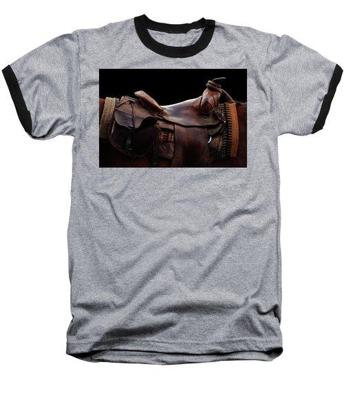 Have A Seat - Three Bars Ranch Baseball T-Shirt