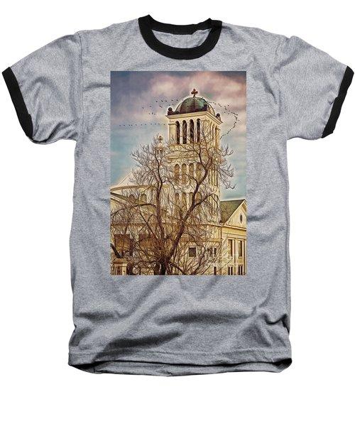 The Church On Oak Street Baseball T-Shirt