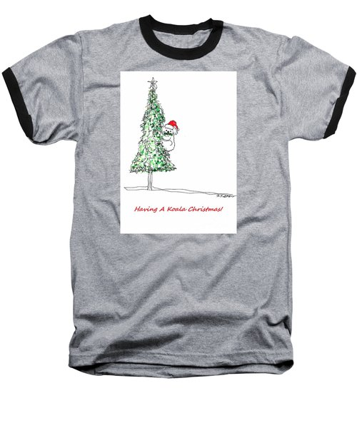 Having A Koala Christmas Baseball T-Shirt