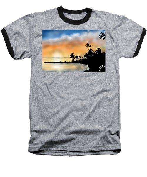 Hawaii Beach Baseball T-Shirt