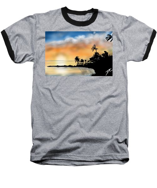 Hawaii Beach Baseball T-Shirt