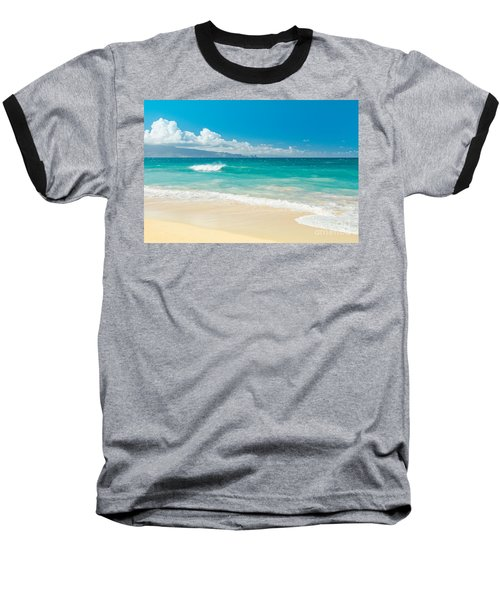 Hawaii Beach Treasures Baseball T-Shirt