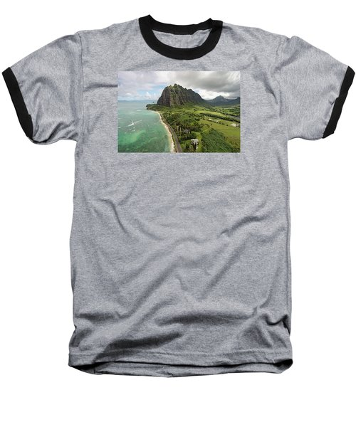 Hawaii Beauty Baseball T-Shirt by James Roemmling
