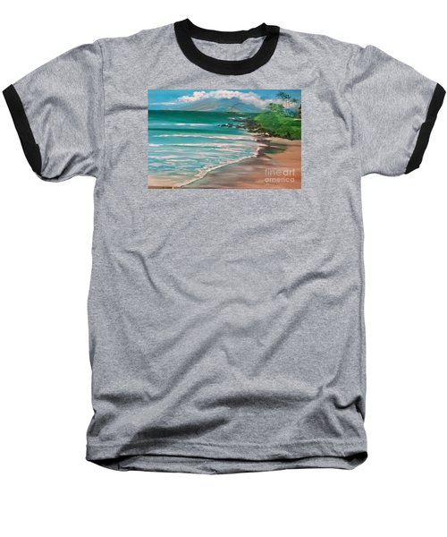 Hawaii Honeymoon Baseball T-Shirt