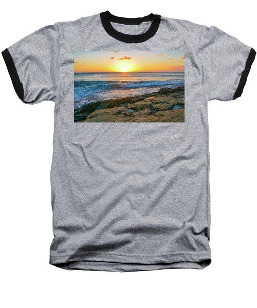 Hawaii Sunset Baseball T-Shirt
