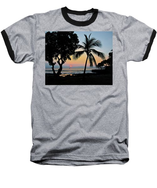 Hawaiian Big Island Sunset  Kailua Kona  Big Island  Hawaii Baseball T-Shirt
