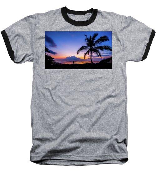 Hawaiian Dawn Colors Baseball T-Shirt