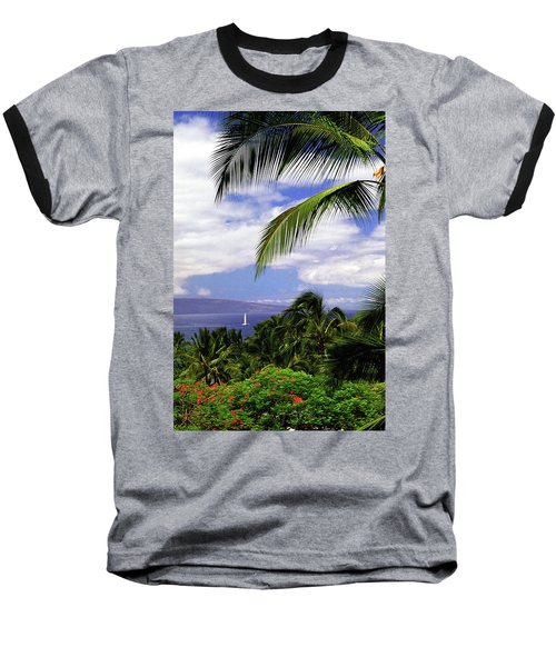 Hawaiian Fantasy Baseball T-Shirt by Marie Hicks