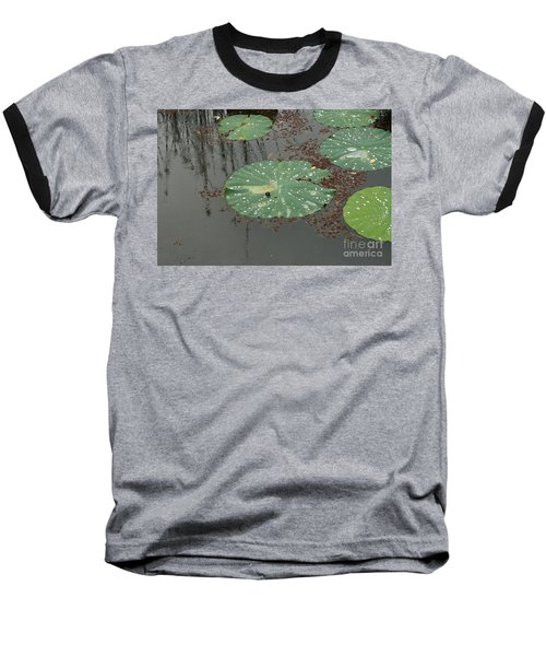 Hawaiian Lilly Pad 1 Baseball T-Shirt
