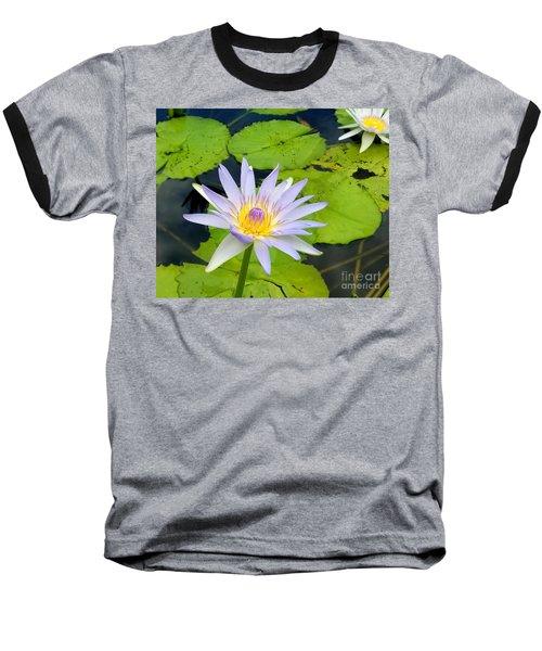 Hawaiian Lotus Baseball T-Shirt