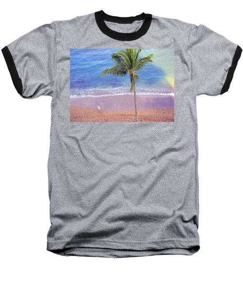 Hawaiian Morning Baseball T-Shirt