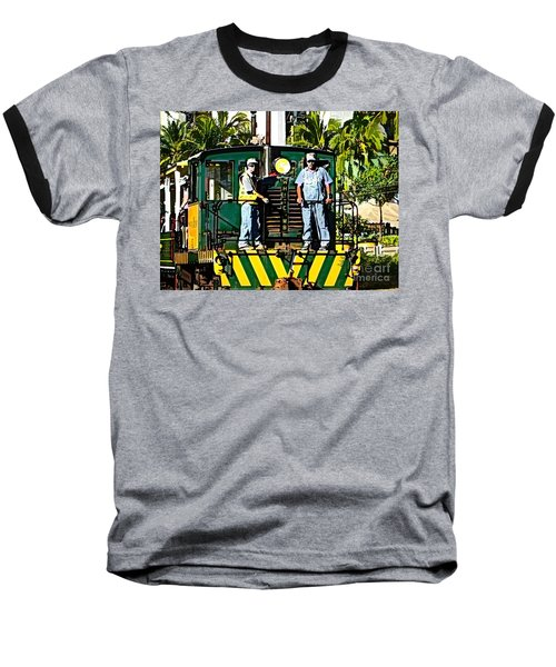 Hawaiian Railway Baseball T-Shirt