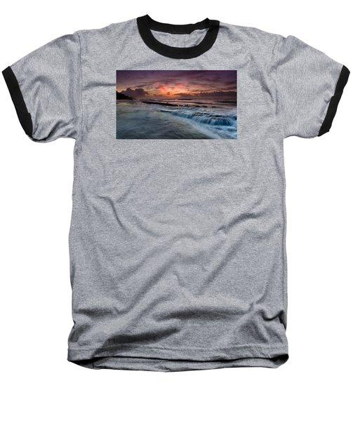 Hawaiian Sunrise Baseball T-Shirt