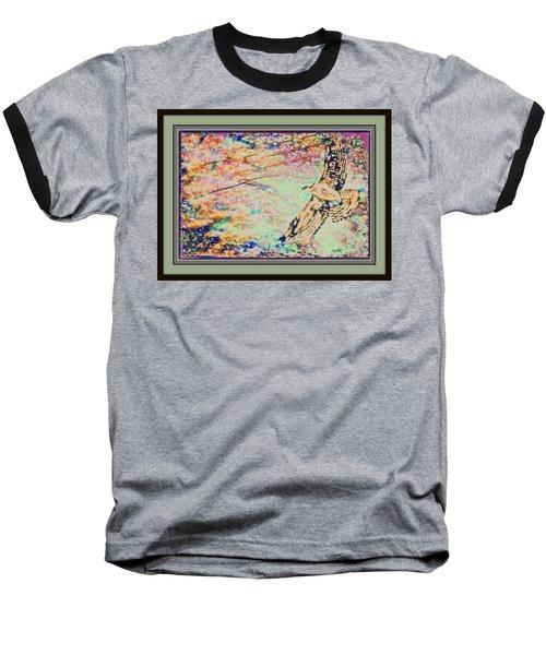 Hawk And Sky Baseball T-Shirt
