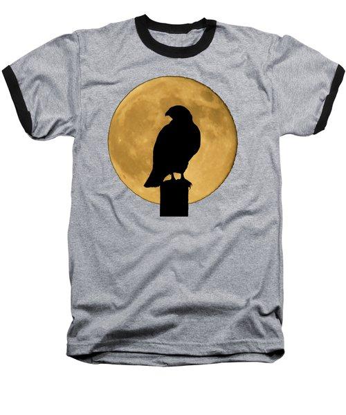 Hawk Silhouette 2 Baseball T-Shirt