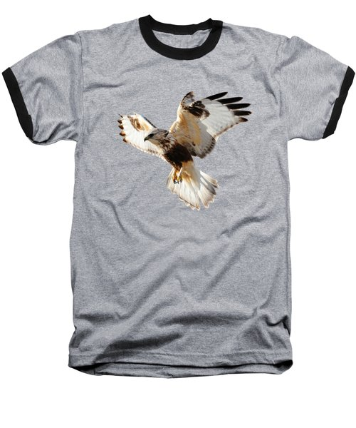 Hawk T-shirt Baseball T-Shirt by Greg Norrell