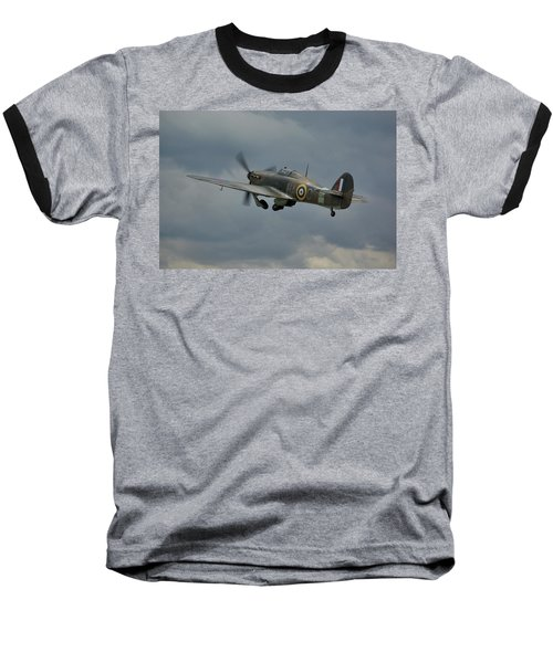 Hawker Hurricane Mk Xii  Baseball T-Shirt by Tim Beach