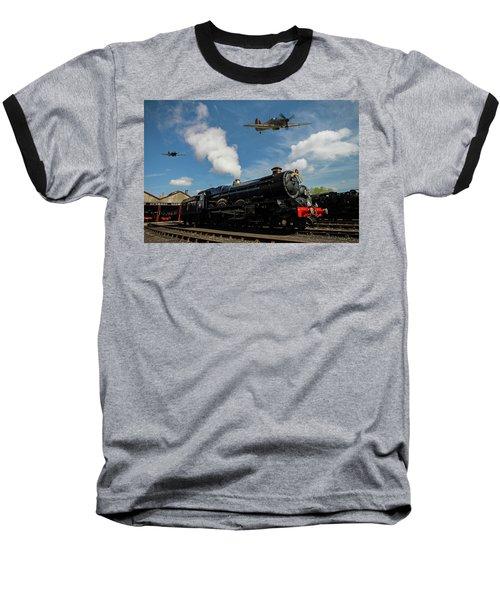 Hawker Hurricanes Beating Up A Goods Yard Baseball T-Shirt