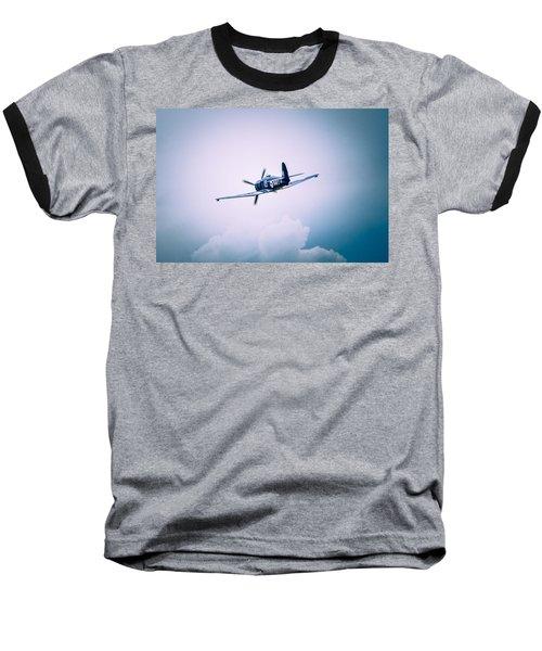 Hawker Sea Fury Fb11 Baseball T-Shirt by Thomas M Pikolin