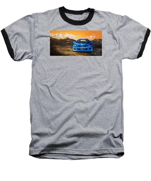 Hawkeye  Baseball T-Shirt by Chad Berglund