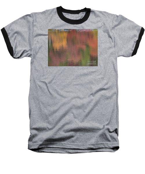 Hawkins Autumn Abstract II 2015 Baseball T-Shirt