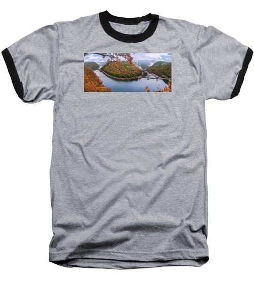 Hawks Nest State Park Autumn Splendor Baseball T-Shirt