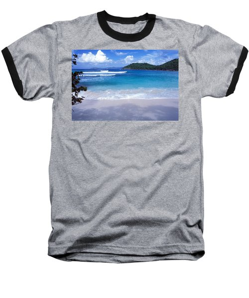 Hawksnest Bay 6 Baseball T-Shirt