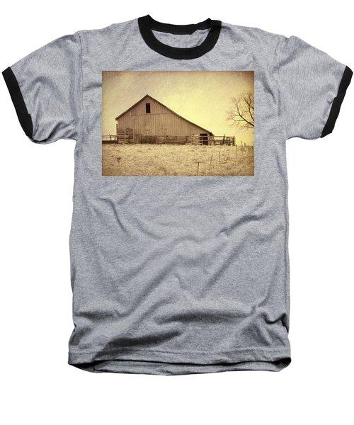 Hay Barn Baseball T-Shirt