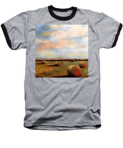 Hay Field Baseball T-Shirt