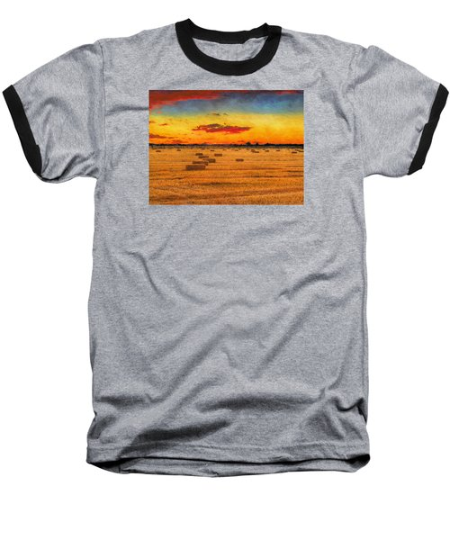 Hay Fields Baseball T-Shirt