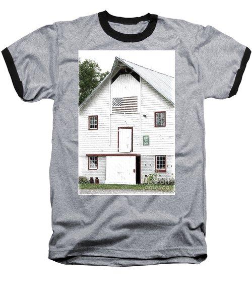 Hay For Sale Baseball T-Shirt by Nicki McManus