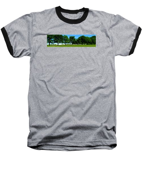Baseball T-Shirt featuring the photograph Hay Harvest by Spyder Webb