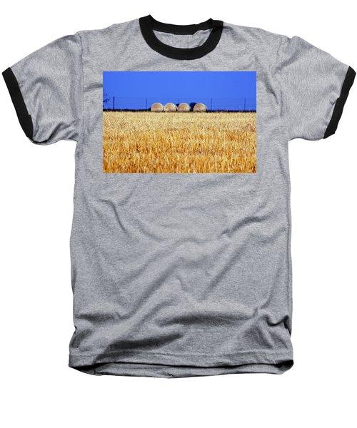 Hay Hay Baseball T-Shirt by Debi Demetrion
