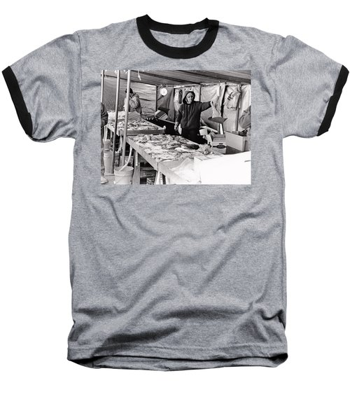 Hay Market  Baseball T-Shirt